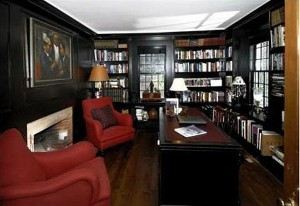 Renee-Zellwegers-Connecticut-farmhouse-library1
